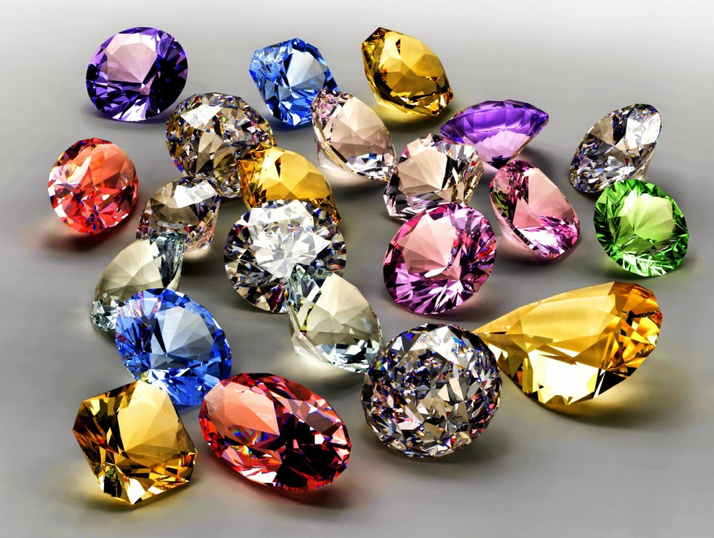 NIW GEMSTONES TREASURES WALLPAPER