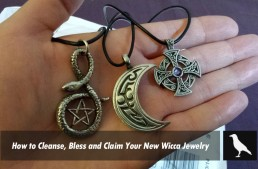 How to Cleanse, Bless and Claim Your New Wicca Jewelry