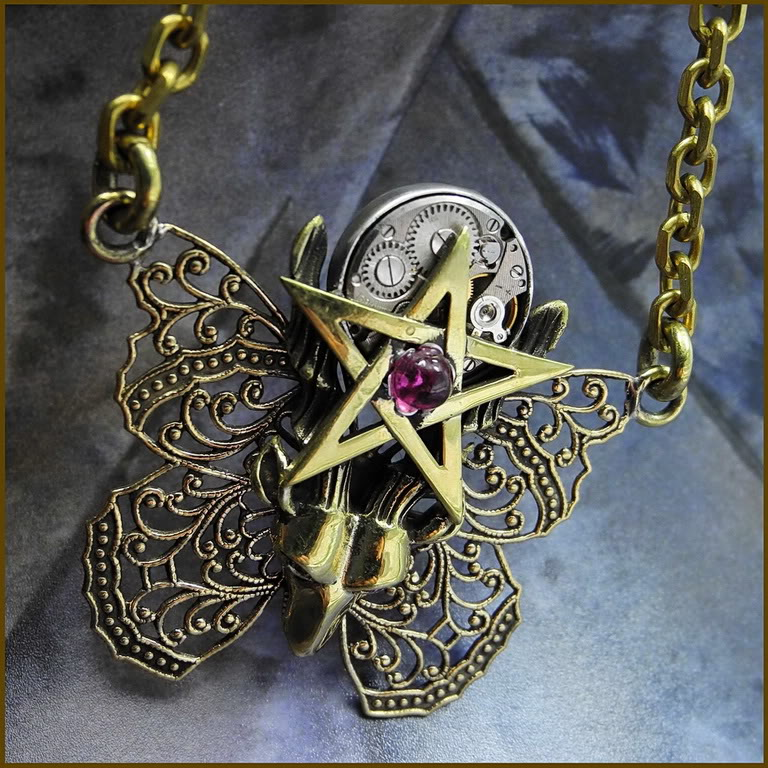 steampunk_pagan_pendant_necklace__pentagram_by_primalbrass-d51o5j7