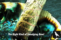 The Right Kind Of Smudging Bowl