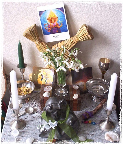 Imbolc Altar Preparation And Ritual Wicca Daily