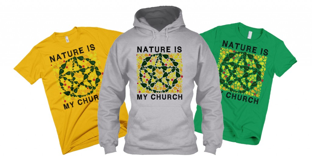 nature is my church ad