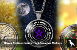 Wiccan Necklace Feature: The Affirmation Necklace