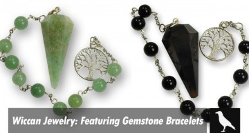 Wiccan Jewelry: Featuring Gemstone Bracelets
