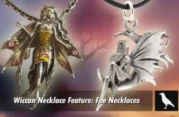 Wiccan Necklace Feature: Fae Necklaces