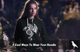 Here Are 5 Cool Ways To Wear Your Hoodie!