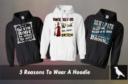 5 Reasons To Wear A Hoodie
