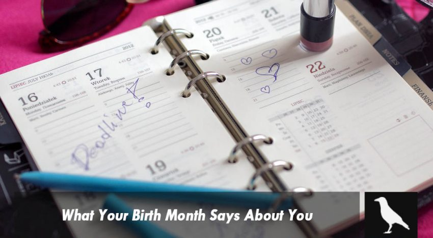 What Your Birth Month Says About You